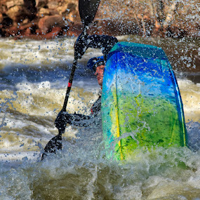 Shooting Rapids by Robert Gallucci - Sports & Fitness Watersports ( photoclass, raleigh trip )