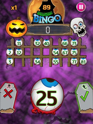 Halloween Bingo Screenshot