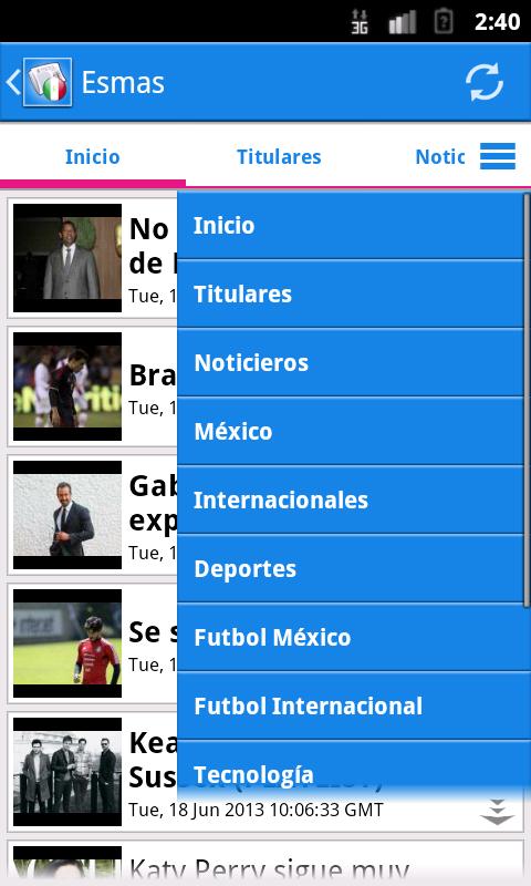 México Noticias- screenshot