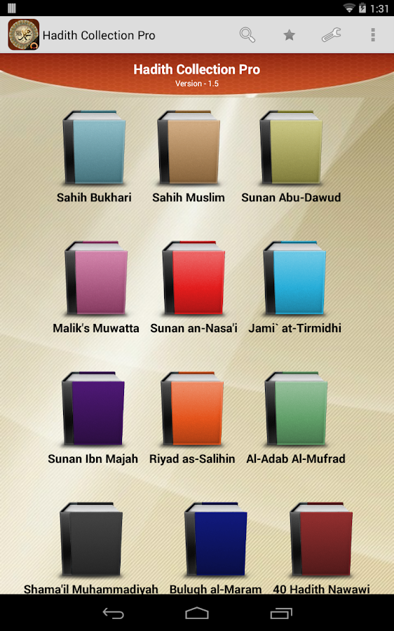 Hadith Collection Pro- screenshot