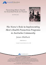Nurse's Role in Implementing Men's Health Promotion Programs in the Australian Community