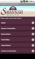 Screenshot of Savannah House