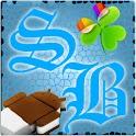 GOWidget SteelBlue ICS – Free logo