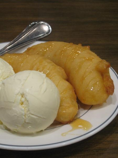 Banana Fritters With Ice Cream Madam Kwan Midvalley Megamall Malaysia Food Restaurant Reviews