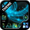 Next Launcher Neon Theme icon