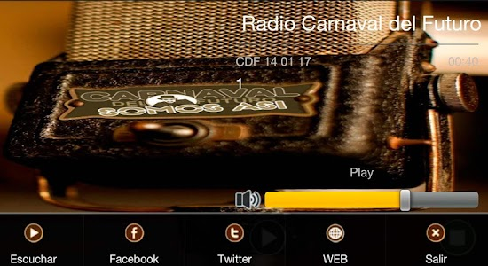 Radio Carnaval del Futuro screenshot 4