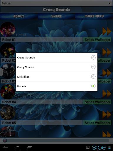 玩免費個人化APP|下載クレイジーな音 app不用錢|硬是要APP