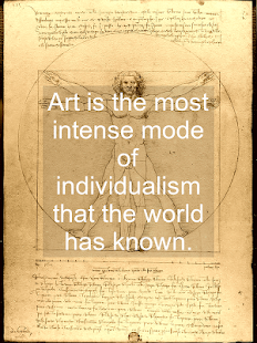 ❝ Art quotes - screenshot thumbnail