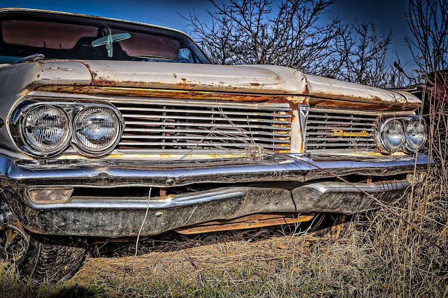 Bonneville Grill by Ron Meyers - Transportation Automobiles
