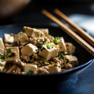 Ma-Po Tofu (Simmered Tofu With Ground Pork)