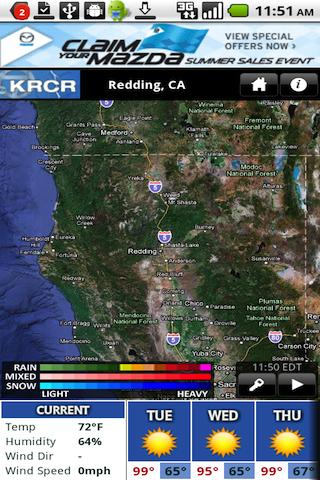 KRCR Wx - screenshot