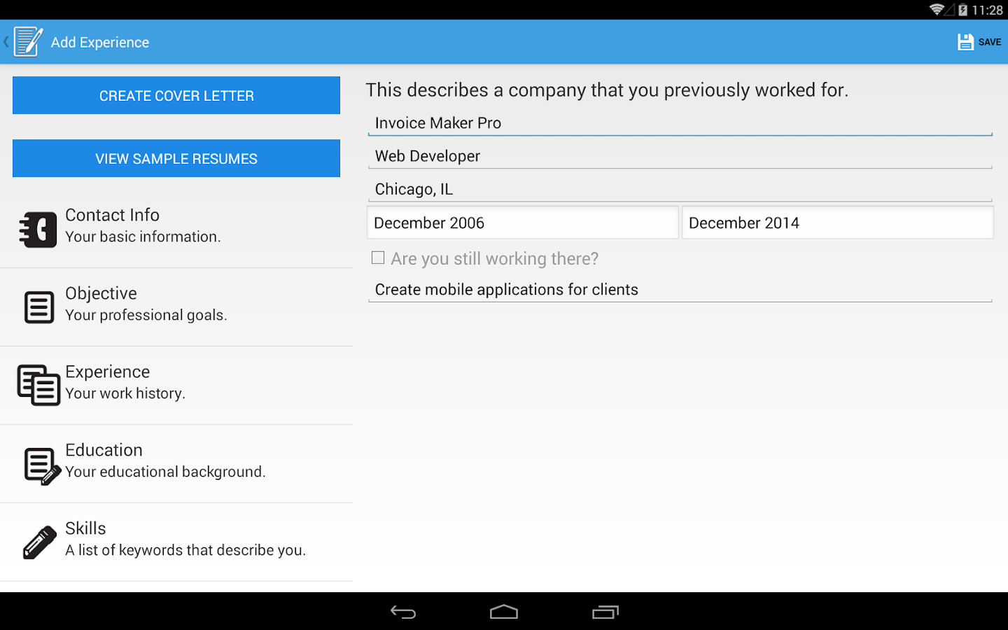 Resume Builder ProAndroid Apps on Google Play