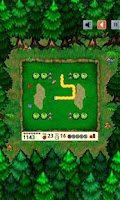 Screenshot of Snake Deluxe Lite- line snakes