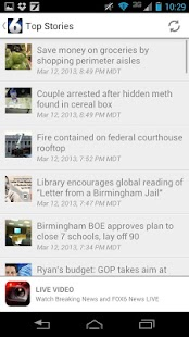 WBRC TV News FOX6 - screenshot thumbnail