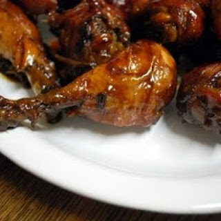 Lime, Apricot, and Soy-Sauce Chicken Wings