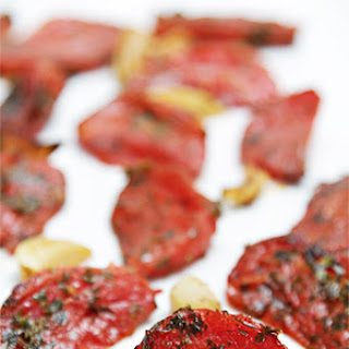 Roasted Tomatoes With Garlic And Lemon Thyme.