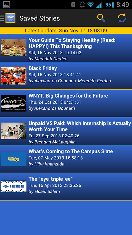 NYIT Pocket Campus Slate - screenshot