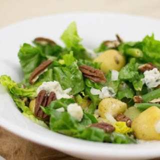 Lauwwarme Krieltjessalade Met Gorgonzola En Pecannoten