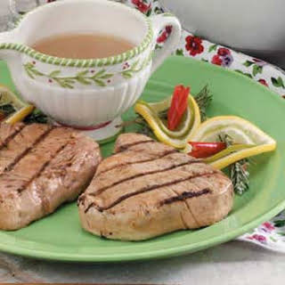 Citrus-Ginger Tuna Steaks.
