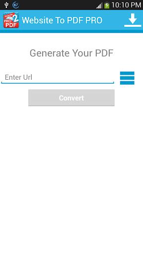 玩生產應用App|Website TO PDF PRO免費|APP試玩