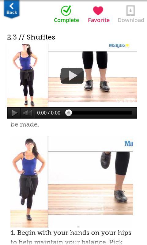 How To Tap Dance FREE- screenshot