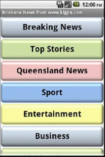 Brisbane News- screenshot thumbnail