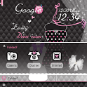 CUKI Theme Black AND Pink icon