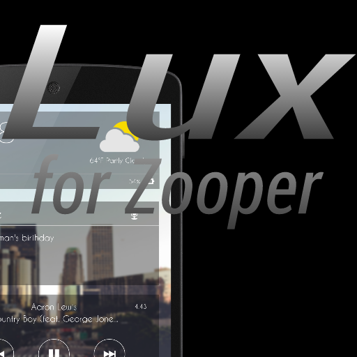 Lux for Zooper Widget Pro 1 00 + (AdFree) APK for Android