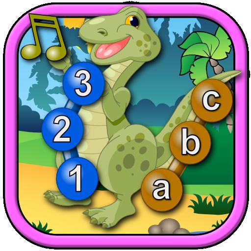 孩子恐龙加入点 教育 LOGO-玩APPs