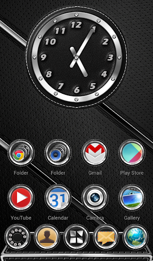 Next Launcher Theme Leather