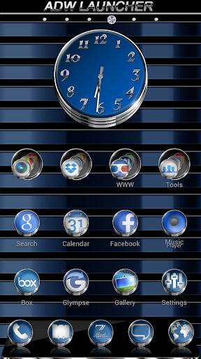 Zaphire HD APEX NOVA ADW Theme