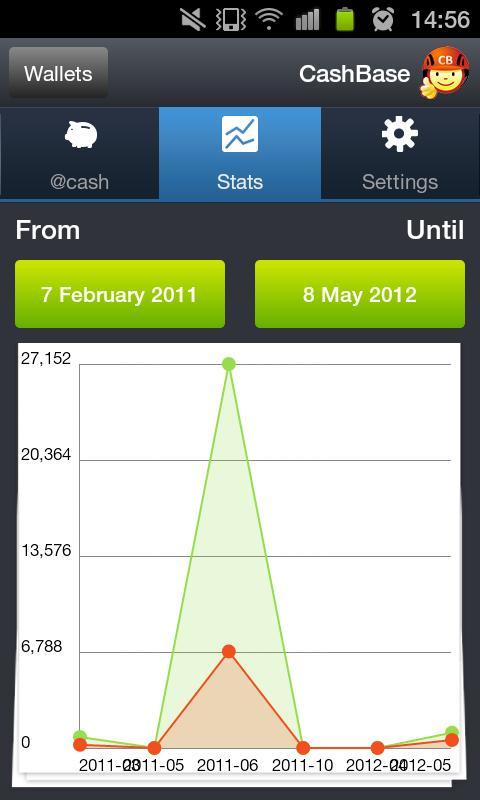 CashBase- screenshot