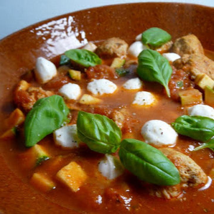 Italian Flavored Chicken Meatballs Recipe