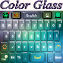 Color de Cristal Teclado icon