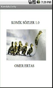 Komik Sozler- screenshot thumbnail