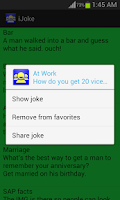 Screenshot of iJoke - Funny Jokes