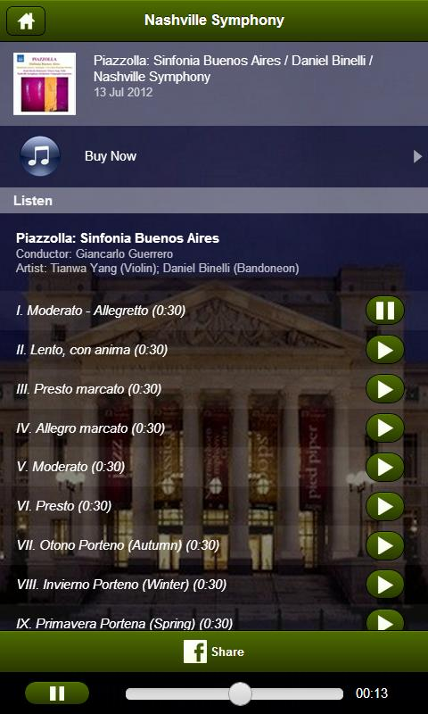 Nashville Symphony- screenshot