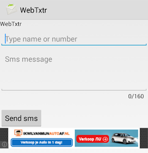 WebTxtr - screenshot thumbnail
