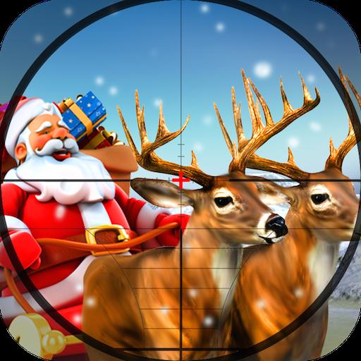 スナイパー:サンタハンタークリスマス3D 動作 App LOGO-硬是要APP
