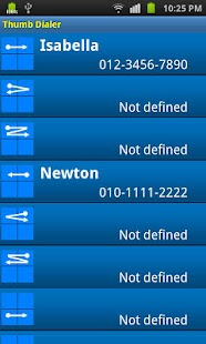 Thumb Dialer - screenshot thumbnail