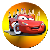 Happy Cars Coloring For Kids