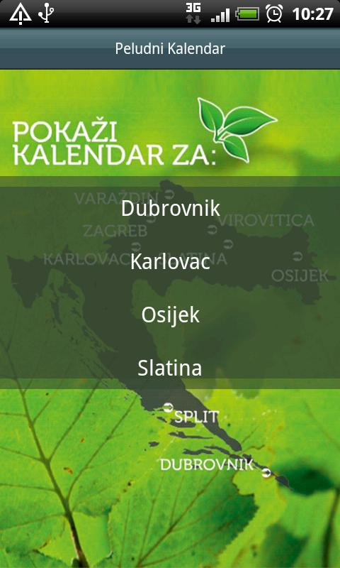 Peludna prognoza - screenshot