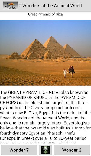 7 Wonder of the Ancient World