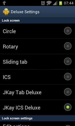 Deluxe Settings Android İndir