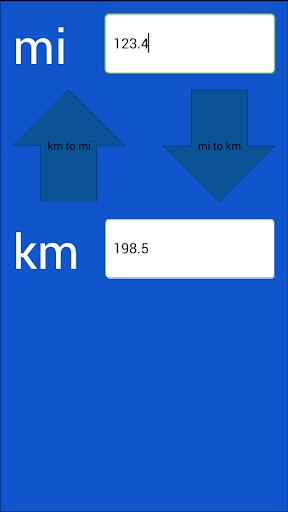 Miles Kilometers Converter  screenshots 3