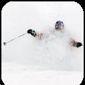 Skiing Powder logo