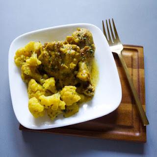 Curry Cauliflower Chicken