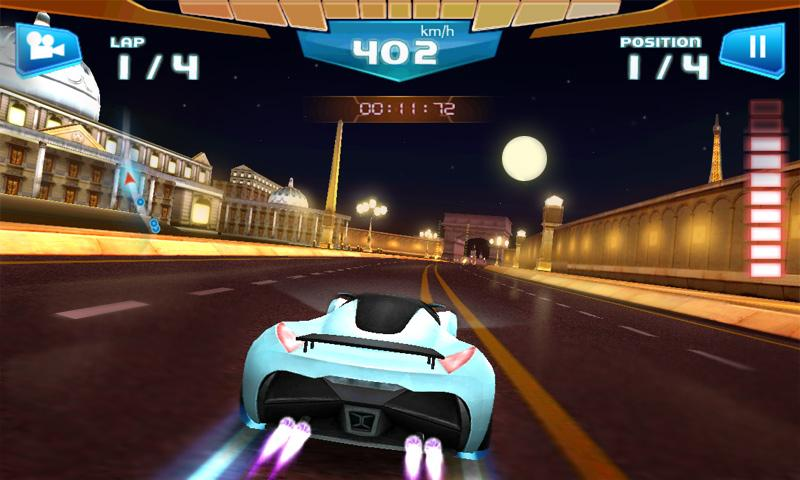 Screenshots of Fast Racing 3D for iPhone