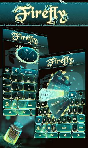 firefly go keyboard theme