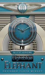 Clock Widget Lightblue Eleplan v2.63 [Paid] APK 1